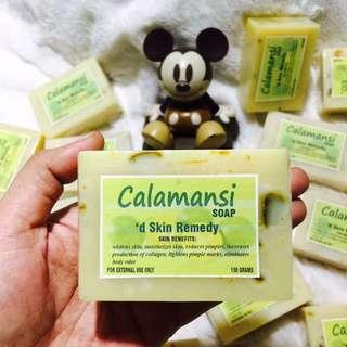HANDCRAFTED CALAMANSI SOAP