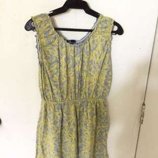 Gap yellow dress