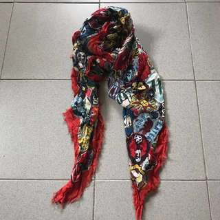 DSQUARED Scarf