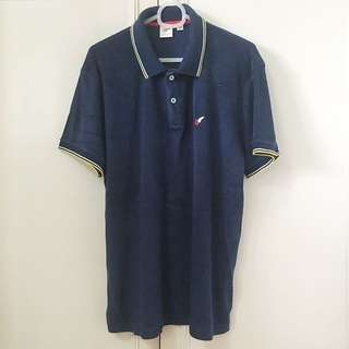 Uniqlo x Michael Bastian navy polo shirt