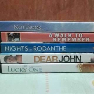 Nicholas Sparks Original DVDs