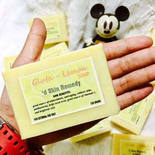 HANDCRAFTED GLUTA-LEMON SOAP