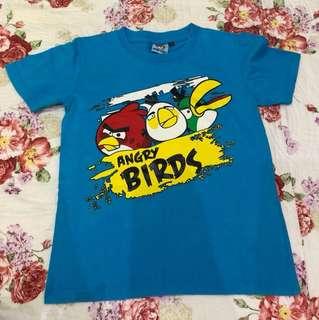 Blue Angry Birds Tee