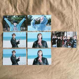BTS Spring Day Broadcast Photocards