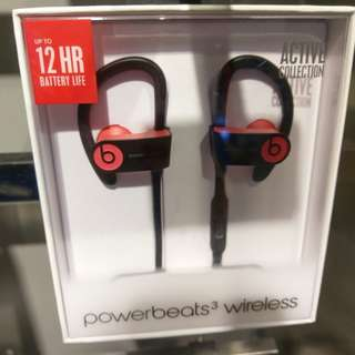 Beats Powerbeats3 Wireless brand new full packages