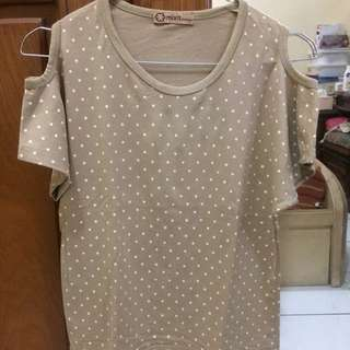 Polkadot cold shoulder