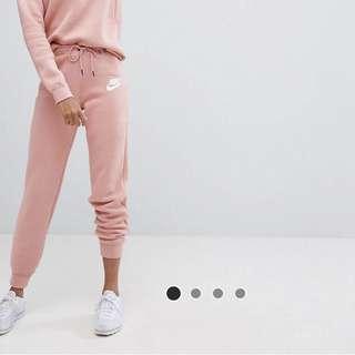 乾燥玫瑰色  NIKE 厚棉褲