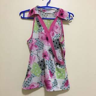 Floral Pink Sleeveless
