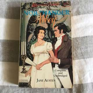 Vintage Northanger Abbey Novel by Jane Austen