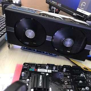 Sapphire RX570 4G nitro+ 掘礦卡 modded