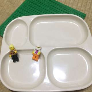 🦅兒童四格餐盤 12入 餐廳可用