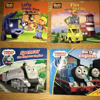 Book bundle: bob the builder& Thomas and friends