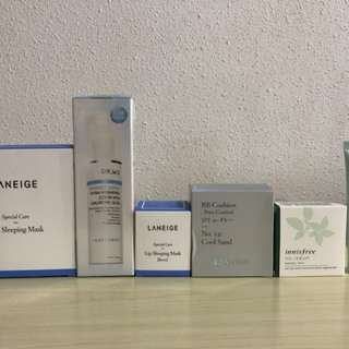 [NEW] Laneige, Dr Wu, Innisfree, Aritaum Skincare and Makeup Products