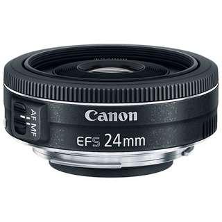 [3rd RESTOCK] Canon EFS 24mm f/2.8 STM (Pancake)
