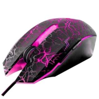 Zeus M-110 Lightning Chain Bolt Gaming Mouse (With LED Backlight)