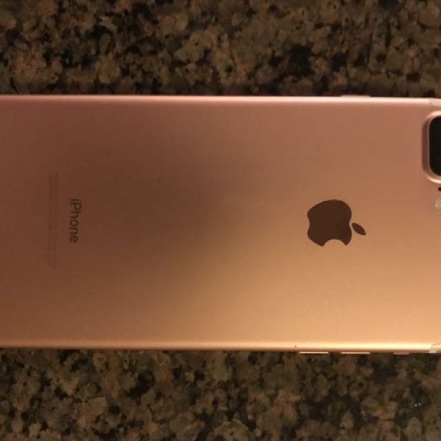 132G iPhone 7 Plus rose gold