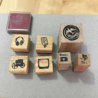 7 Piece Stamp Set
