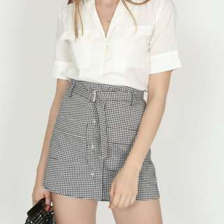 BNWT MDS GINGHAM SHORTS