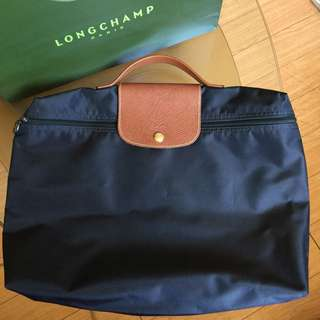 LONGCHAMP Mens Le Pliage Briefcase/ Document Holder (Authentic and Genuine: PreLoved)