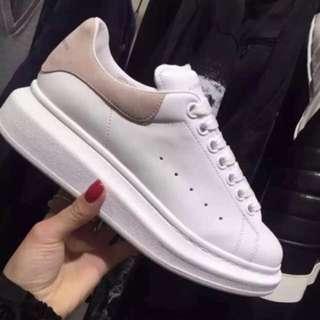 McQueen 厚底鞋