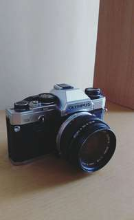 Olympus OM-10 Film Camera with Zuiko 50mm lens
