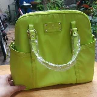 Kate Spade original bag tas neon colour