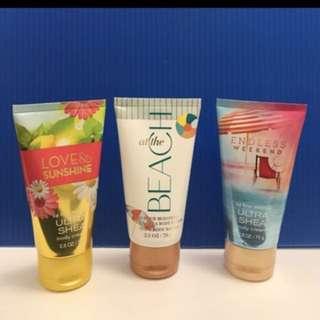 Bath and body works ultra shea body cream