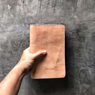 Leather organizer book