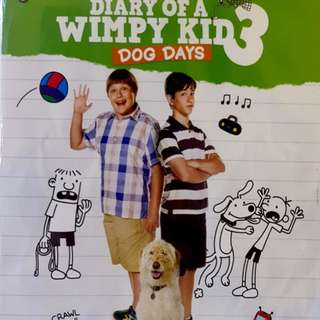 DIARY OF A WIMPY KID 3 : DOG DAYS BLURAY