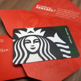 Starbucks Card: Green Siren 2017