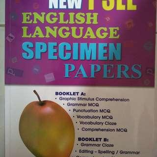 New PSLE English Language Specimen Papers