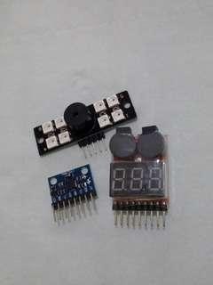 Led信號燈+電子羅盤+鋰電池測試儀