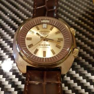 longines admiral president style day date automatic