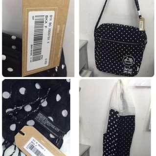 Chocolate 斜揹袋&頸巾