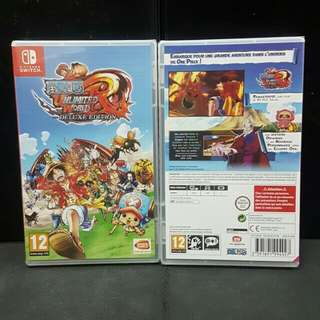 [BN] Nintendo Switch One Piece Unlimited World Red Deluxe Edition (Brand New)