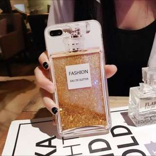 Perfume Glitter iPhone Plus Phone Case