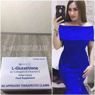 Nhance L-Glutathione Softgels with Collagen and Vit. E