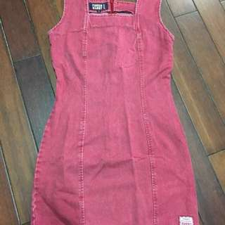🚚 純棉)美國FEDED GLORY牛仔連身裙