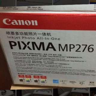 Canon Pixma MP276 printer/scanner/copier