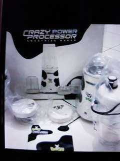 Food Processor And Smoothies Maker