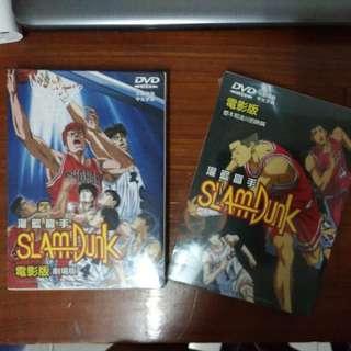 灌籃高手電影版DVD(全新未拆封)