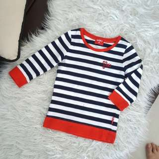 Miki striped sweater