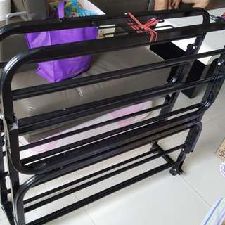 New Foldable Single Bed Frame