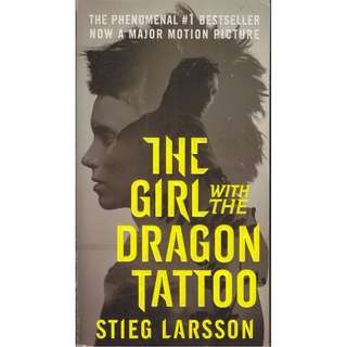 """The Girl with the Dragon Tattoo"" by Stieg Larsson"