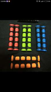 Rubber lever grips