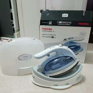 Toshiba Cordless Steam Iron