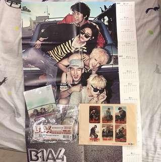 🚚 B1A4 專輯週邊商品