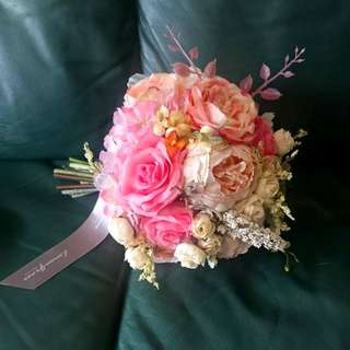 Lemongrass 絲花球 婚禮 big day pre-wedding 用