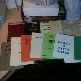 Assorted Occult Topics Books - All For $10