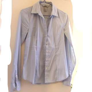 H and m shirt size 32 90%new